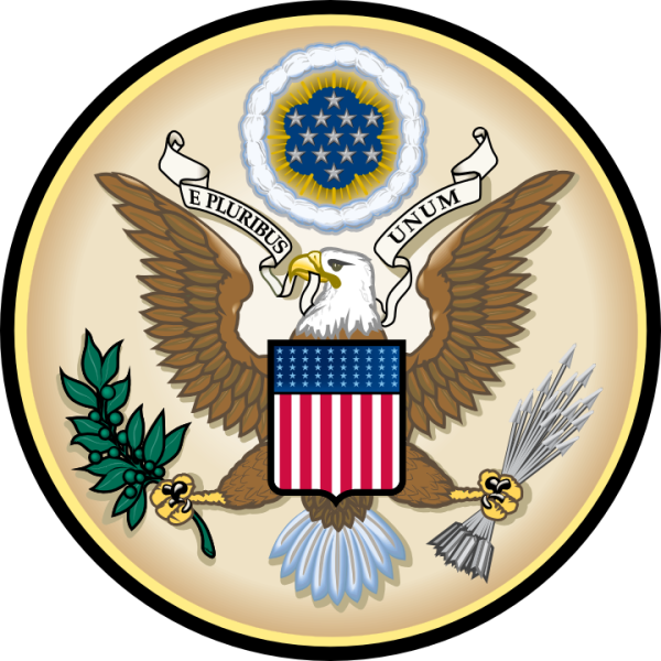 "E pluribus unum, Latin for ""Out of Many, One,"" is a motto found on the Seal of the United States, along with Annuit cœptis and Novus ordo seclorum, and adopted by an Act of Congress in 1782."