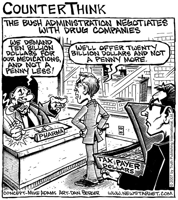 bush-negotiates_600